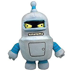 Toynami Futurama Bender Plush