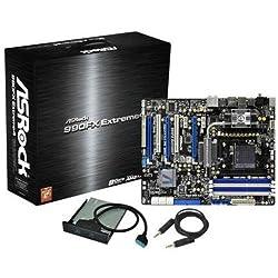 ASRock MB-990EX4 Socket AM3+/ AMD 990FX/ AMD Quad CrossFireX& nVidia Quad SLI/ SATA3&USB3.0/ A&GbE/ ATX Motherboard