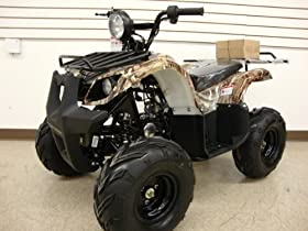 Atv 125cc Fully Automatic with Reverse 1 Year Engine Warranty
