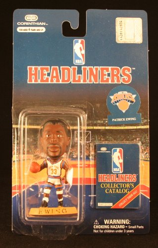 PATRICK EWING / NEW YORK KNICKS * 3 INCH * NBA Headliners Basketball Collector Figure