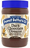 Peanut Butter & Co. Peanut Butter, Dark Chocolate Dreams, 16-Ounce Jars (Pack of 6)
