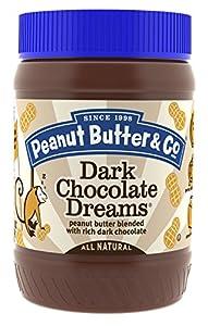 Peanut Butter & Co. Peanut Butter, Dark Chocolate Dreams, 16-Ounce Jars (Pack of 6)