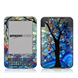 Kindle Keyboard Skin - Blue Essence - High quality precision engineered removable adhesive vinyl skin for the 3G + Wi-Fi 6
