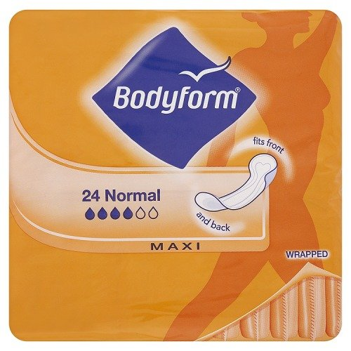 Bodyform Towels 24 Wrapped Normal Maxi