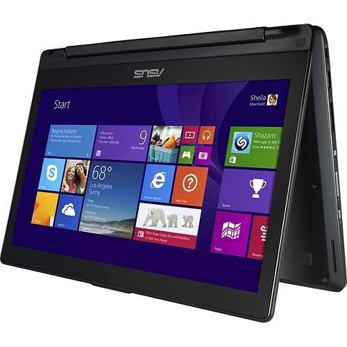 "Asus Q302LA-BBI5T14 13.3"" Touch-Screen Convertible Laptop - Intel Core i5-4210U 8GB 500GB Windows 8 - Black (Certified Refurbished)"