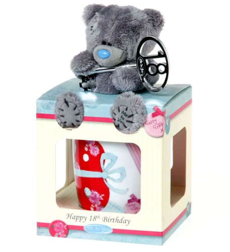18th Birthday Mug and Plush Me to You Bear Gift Set