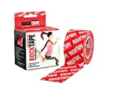 Rocktape Kinesiology Tape for Athletes - 2-Inch x 16.4-Feet (Red Logo)