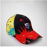 Women Golf Cap Adjustable Anti-UV Caps Multi Printing Peaked Cap