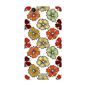 Garmor Designer Plastic Back Cover For Gionee Marathon M2