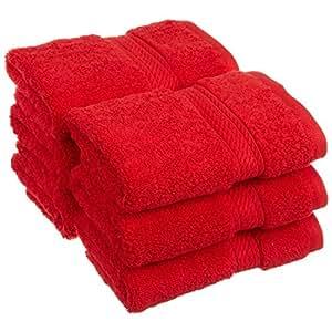 Amazon Com Red Luxury Superior 900 Gsm Egyptian Cotton