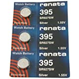FOSSIL Watches:#395 Renata Watch Batteries 3Pcs