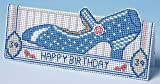The Nutmeg Company Birthday Shoe Card 3D Cross Stitch Kit