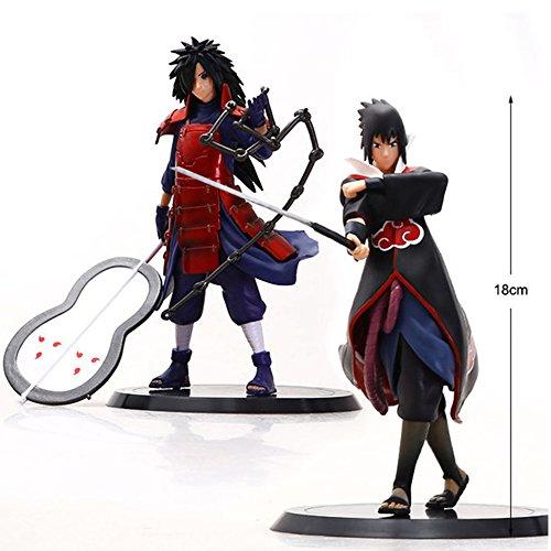 Best 2pcs/set Cool Anime Action Figure 17CM Fashion PVC Actiong Figure Collection Model Toy For Children