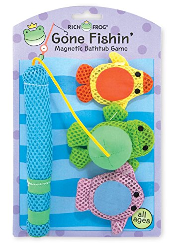 Rich Frog Gone Fishin' Magnetic Bathtub Game - Pond