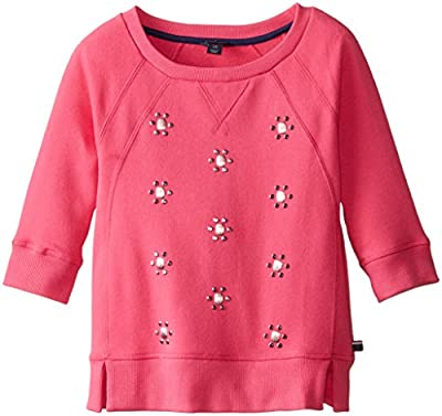 Tommy Girl Big Girls' All Over Jewel Crew Neck from Tommy Hilfiger Children's Apparel