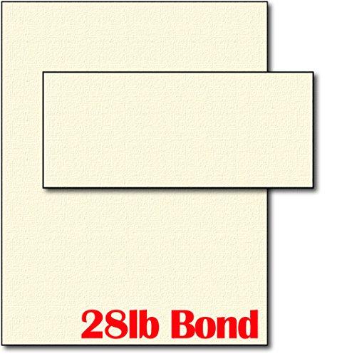 28lb cream linen resume paper  u0026 envelopes