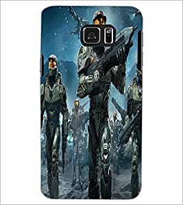 PRINTSWAG WARRIORS Designer Back Cover Case for SAMSUNG GALAXY NOTE 5 EDGE