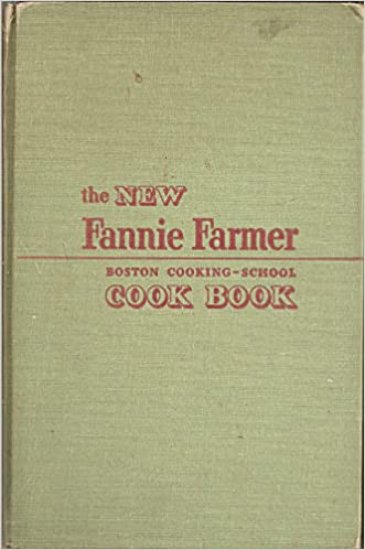 Quick read about fannie farmer cookbook