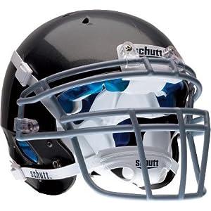 Schutt Sports DNA Pro+ Varsity Football Helmet, Black, Large