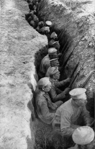 Russian Troops Awaiting German Attack