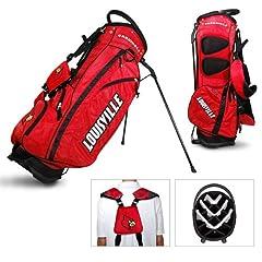 Louisville Cardinals NCAA Stand Bag - 14 way by Team Golf