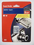 SanDisk 8 GB Class 2 SDHC Flash Memory Card SDSDB-8192-A11