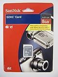 SanDisk 8 GB Class 2 SDHC Flash Memory Card SDSDB-8192-A11