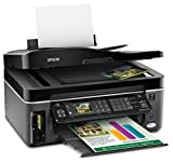 Epson WorkForce 615 Wireless Color Inkjet All-in-One Printer (C11CA50231)