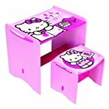 Hello Kitty My First Desk and Stool, Multi-Color