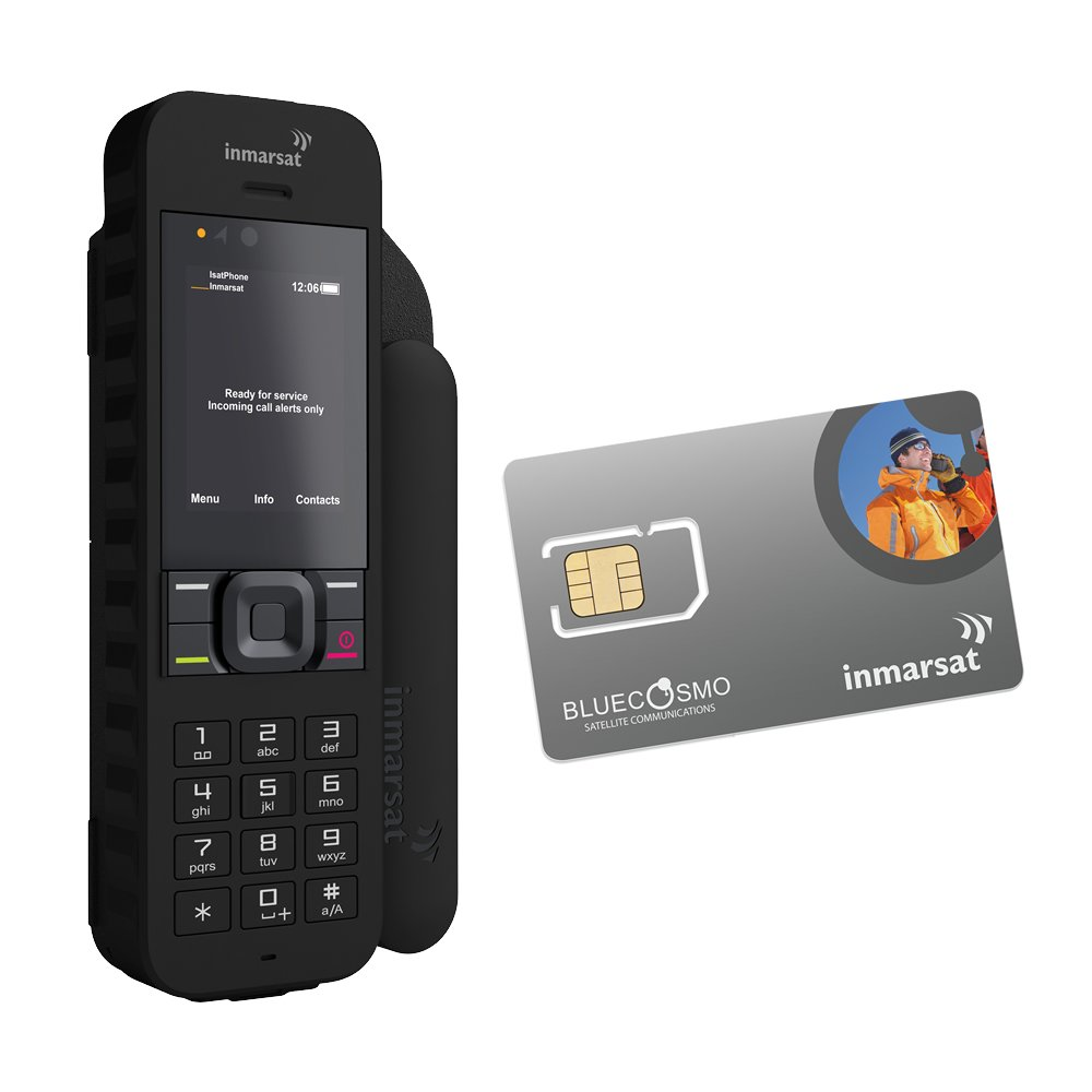 BlueCosmo Inmarsat IsatPhone 2 Satellite Phone Kit (SIM Card Included)
