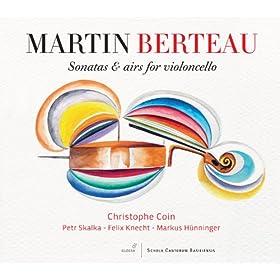 Berteau: Sonatas & Airs for Violoncello
