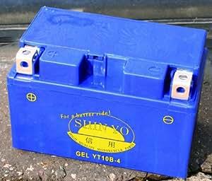 Batterie SHIN YO GEL-10 ZS (YTZ 10 S/YT 10 B-4)