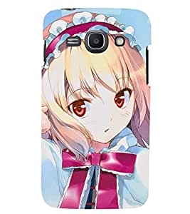 Printvisa Little Girl In Pink And Blue Back Case Cover for Samsung Galaxy Ace 3::Samsung Galaxy Ace 3 S7272