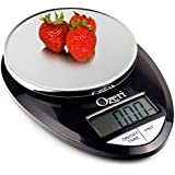 Ozeri Pro Digital Kitchen Food Scale, 1g to 12 lbs Capacity, in Stylish Black (Black, 2)