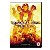 Resident Evil 1-3 Box Set (Resident Evil / Resident Evil 2 - Apocalypse / Resident Evil 3 - Extinction) [DVD] [2001]by Sienna Guillory