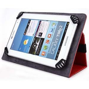 """Mach Speed Trio Stealth G2 8"""" Tablet Case - UniGrip Edition - RED"""