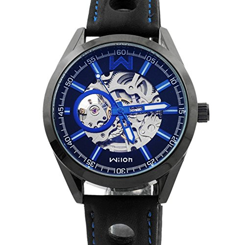 wilon-skeleton-automatic-watch-blue-with-leather-band