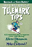 img - for Allen & Mike's Really Cool Telemark Tips, Revised and Even Better!: 123 Amazing Tips To Improve Your Tele-Skiing (Allen & Mike's Series) book / textbook / text book