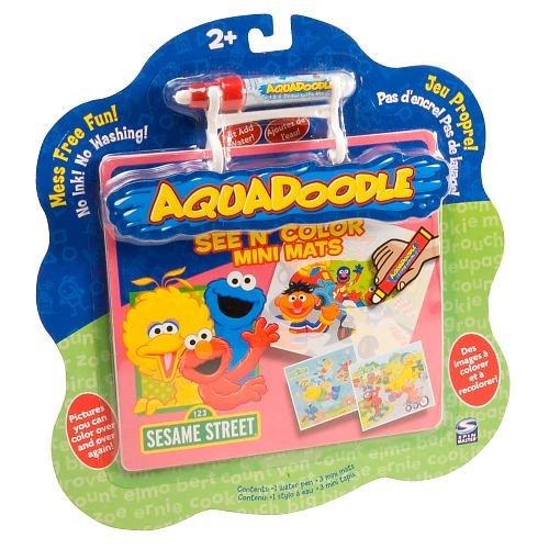Buy Aquadoodle: See N' Color Mini Mats – Sesame Street