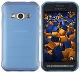 mumbi Coque rigide pour Samsung Galaxy Xcover 3�Bleu transparent