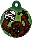 Platinum Pets Star Wars 1.5-Inch Smartphone Pet ID Tag with GPS, Chewbacca Design