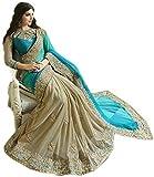 Rewa enterprises georgette fancy saree