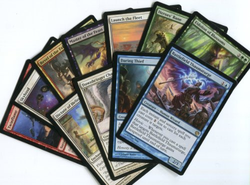 Magic The Gathering Mtg - 10 Assorted Journey Into Nyx Rare Cards front-891961