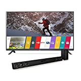 LG Electronics 43LF5900 43-Inch Smart LED TV with LAS454B Soundbar