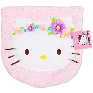 [Hello Kitty] 2 Pocket de towel florets 5 pink Hello Kitty handy towel series