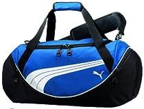 PUMA Men's Teamsport Formation 24 Inch Duffel Bag, Blue, One Size