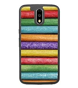 Multi Colour Pattern 2D Hard Polycarbonate Designer Back Case Cover for Motorola Moto G4 Plus :: Moto G4+