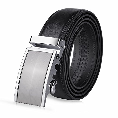 VBIGER Men's Belts Automatic Buckle Waist Belt 1.5""