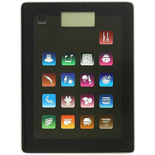 -Balance de Cuisine Ecran Digital Design Appli Smartphone Tablette