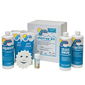 Sale In The Swim Pool Chemical Start Up Kit Up To 15 Reviews Yi 68p